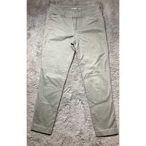 Old navy mid rise pixie ankle pants